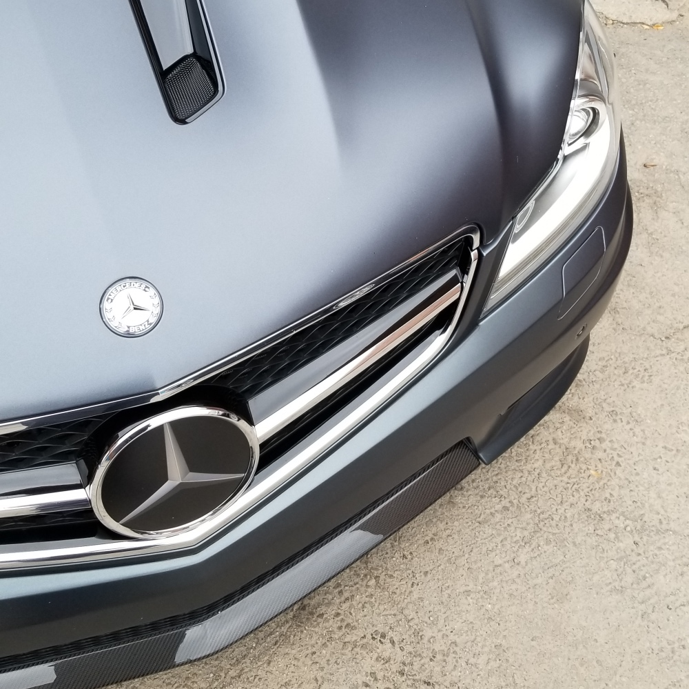 XPEL Stealth wrapped C63 AMG 507 Edition