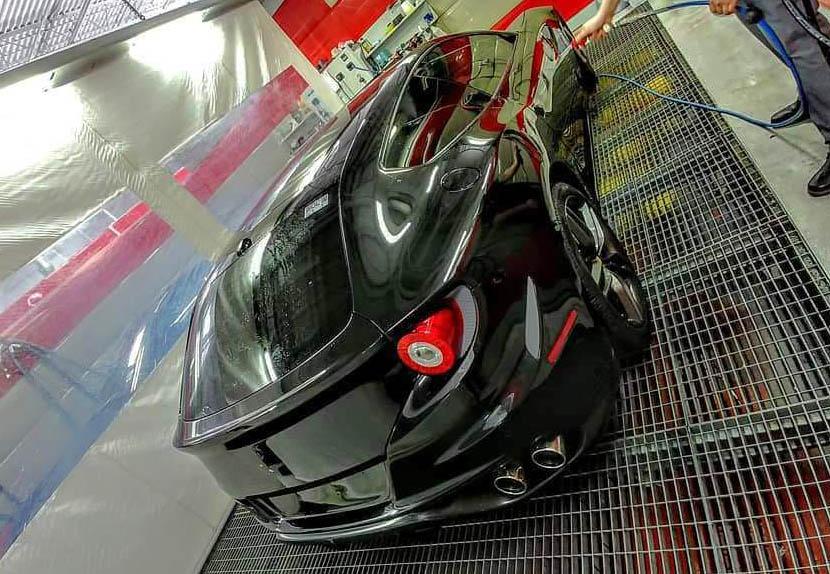 Ferrari FF wrapped in SunTek Ultra Paint Protection Film